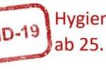 Hygieneplan für den Präsenzunterricht ab 25.01.2021